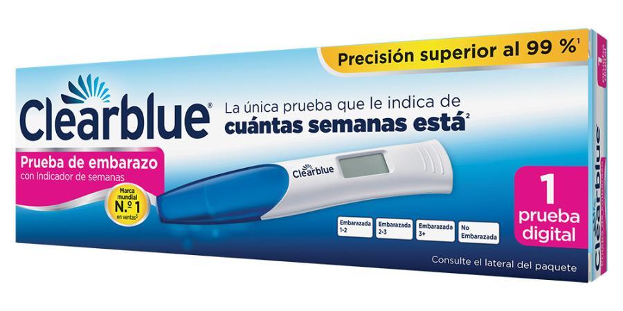 precio de clearblue embarazo